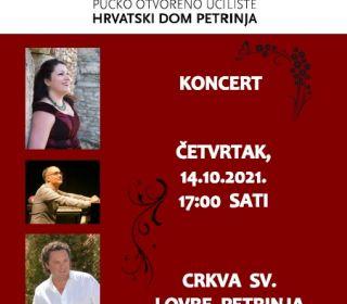 NOVI DATUM!!! Koncert u crkvi Sv. Lovre