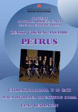 """Koncert ŽVA """"Petrus"""""""