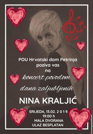 Koncert Nine Kraljić