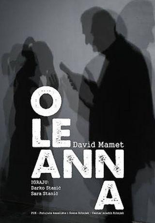 """Kazališna predstava """"Oleanna"""""""