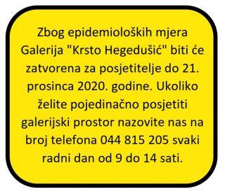 """Galerija """"Krsto Hegedušić"""""""