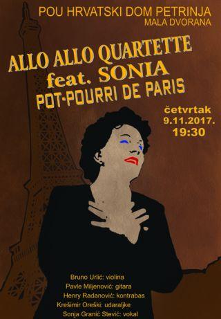 Koncert - Allo Allo Quartette feat. Sonia