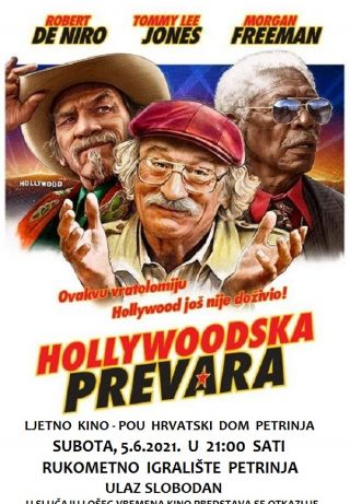 """Ljetno kino: """"Hollywoodska prevara"""""""