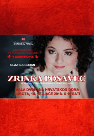 Koncert Zrinke Posavec