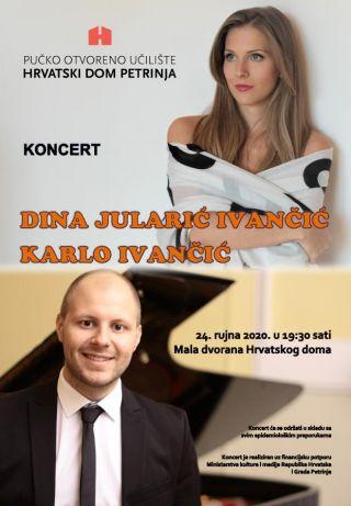 Koncert Dina Jularić Ivančić i Karlo Ivančić