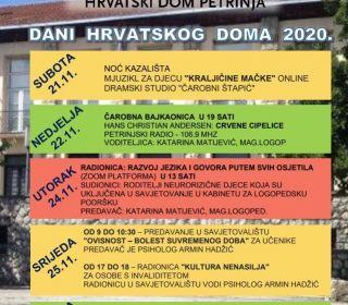 DANI HRVATSKOG DOMA 2020.