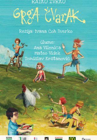 """Predstava za djecu """"Grga Čvarak"""""""