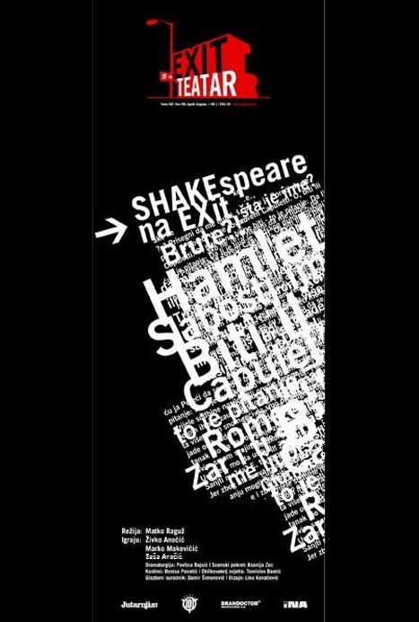 shakespeare na exit plakat